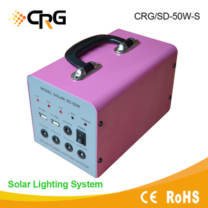 Solar power 12v dc battery backup power supply 50W