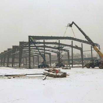 China Prefab Buildings Lightweight Steel Frame Warehouse Norway