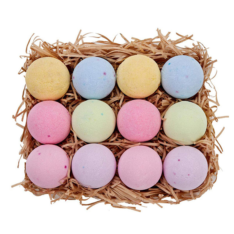 12 Bath Bombs Gift Set and Perfect for Spa Bomb Fizzies
