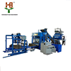 fully automatic type QTJ4-18 hydraulic color pavement brick making machine /road paving block machine made in china