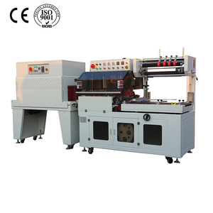 Film-packing SF-400LA+SF-4525 CE POF film L-sealer shrink film wrapping machinery for cigarettes