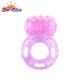 Sex Toy Pink Vibrating Ring Vibrating Captive Bead Cock Ring