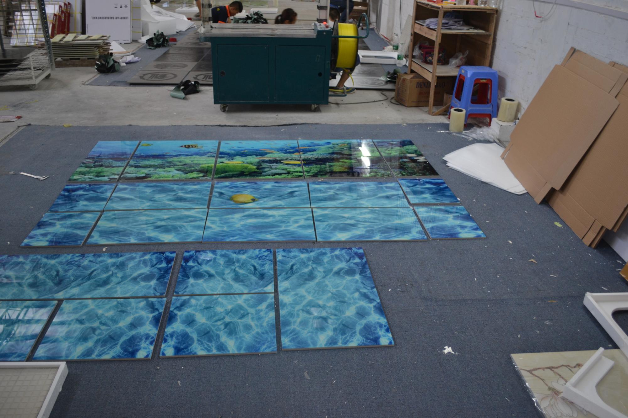 3d Effect Printing Ceramic Floor Tiles,Bathroom Tile 3d Ceramic ...
