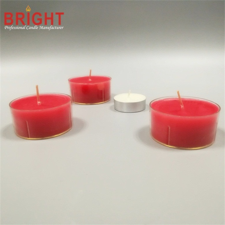 Small White Hand Carved Unique Decorative Tealight Candles