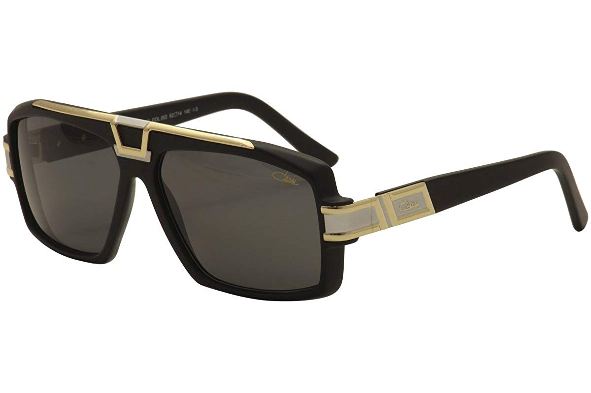 11054f4bb0d Get Quotations · Cazal 883 Sunglasses 002SG Matte Black-BiColor Silver Lens  62mm