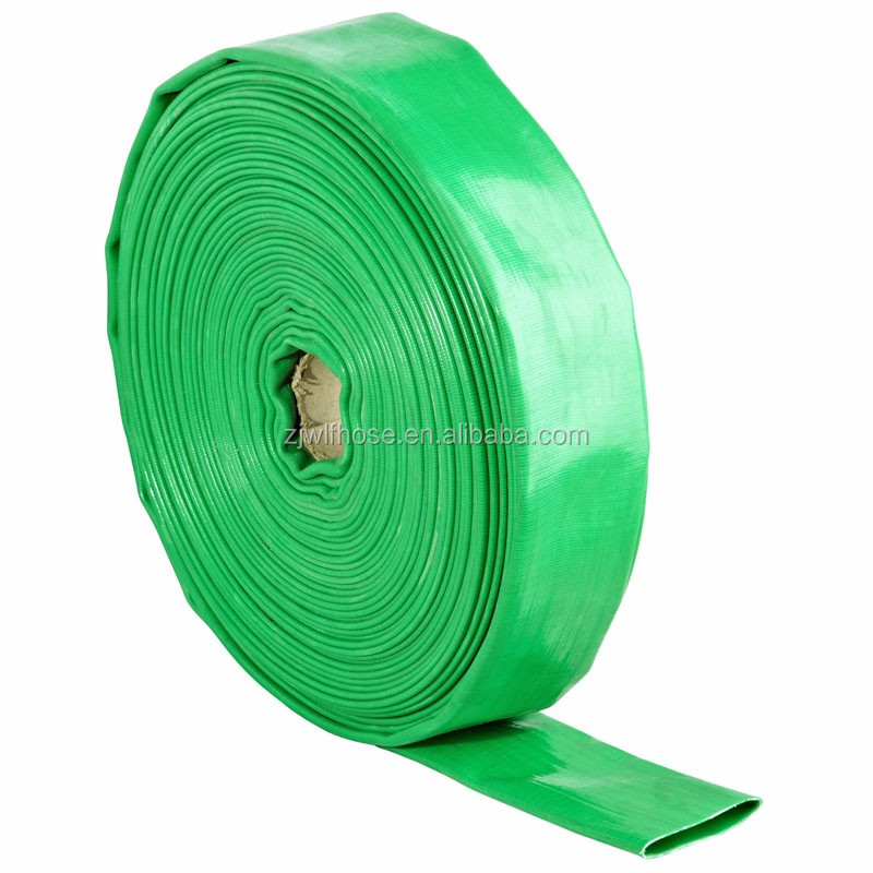 green 6bar PVC discharge pump water hose pipe