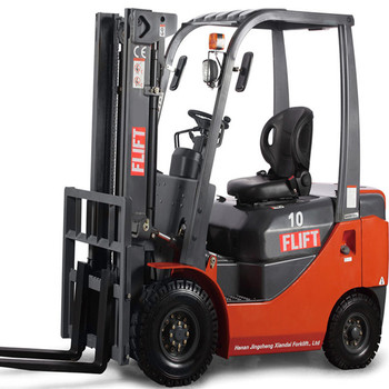 Brand New Small Capacity 1 Ton Forklift Diesel Truck With Double Stage Mast  Japanese Engine - Buy Forklift Diesel,Forklift Diesel Truck With Double