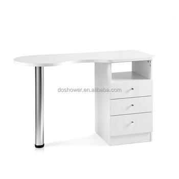 Doshower 2017 Nuevo Diseño Mesa De Manicura Oro Costa Salon Muebles ...