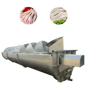 Stainless steel frozen chicken feet and unprocessed chicken feet machine chicken feet peeling machine