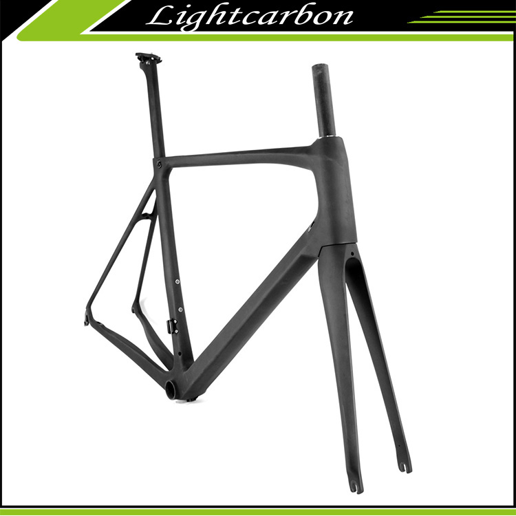 2016 Super Light Carbon Road Bike Toray T1000 Carbon Road Frame LCR007-V