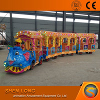 direct manufacturer elephant trackless train