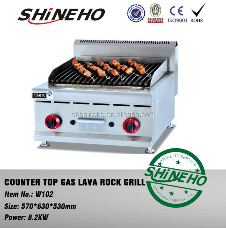 Gas Lava Rock Grill/gas Range Top Grill/gas Stove Top Grills   Buy Gas Grill ,Gas Range Top Grill,Gas Stove Top Grills Product On Alibaba.com