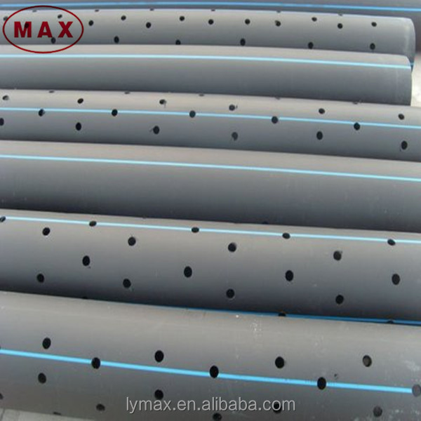 Plastic Large Diameter PE100 HDPE Perforated Drainage Pipe