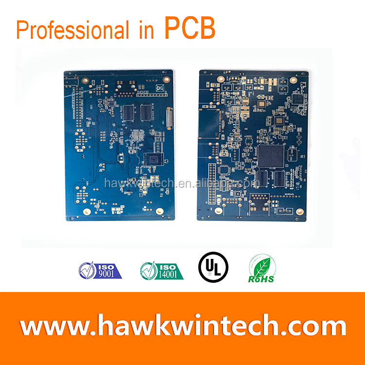 MP3 player pcb power bank pcb Immersion Gold PCB printed circuit board