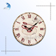 New product natural wooden wall clock and creative japanese household items