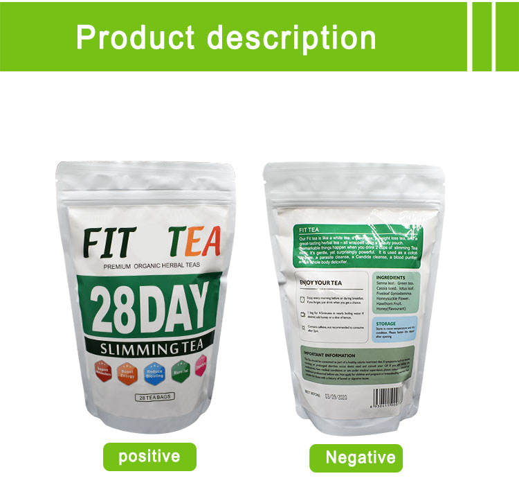 Herbal benefit detox tea weight loss slimming detox tea private label - 4uTea | 4uTea.com