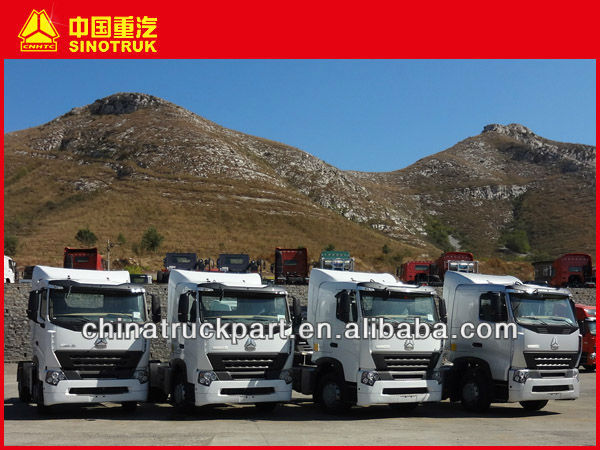 CHINA TRACTOR TRUCK HOWO AND HOWO A7 SERIES