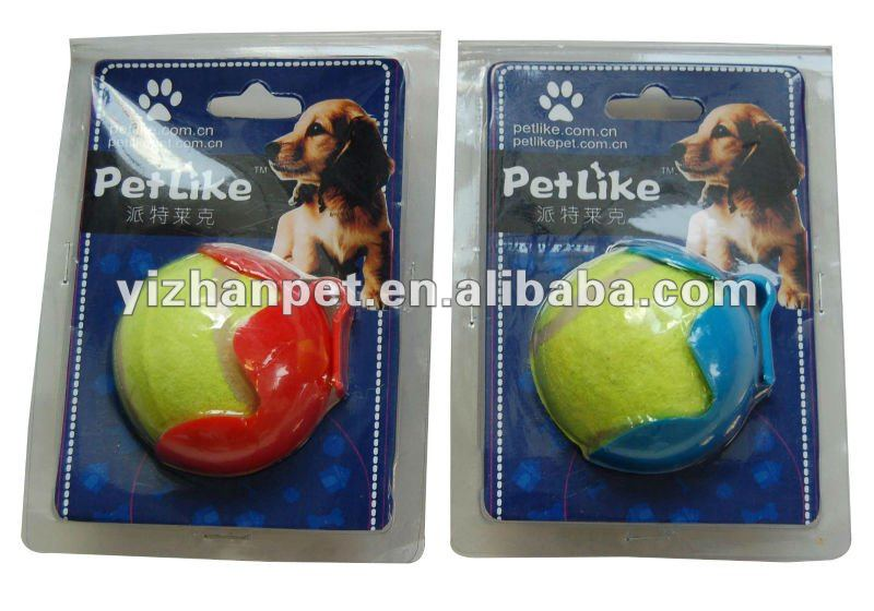 Wholesale Cheap Price dog toys Pet Tennis Ball Thrower, Pet Tennis Ball Toys for dog