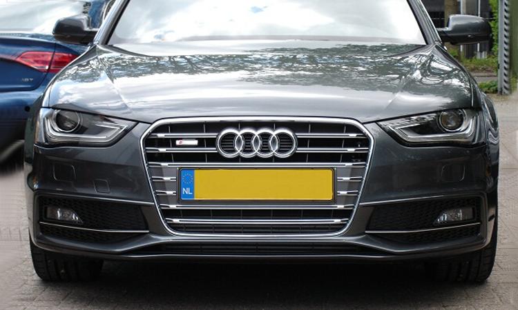 A4 B9 S4 Chrome Car Front Grille For Audi A4 Modification
