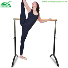 Ballet Dance with Wooden pattern Leg Stretch Adjustable Height Barre Exercise Bar