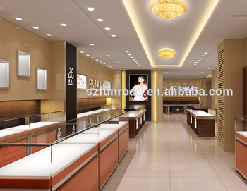 High End Luxury Custom Design Antique Jewelry Store Display Cabinets  Furniture