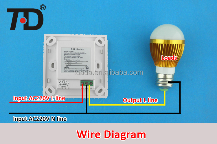 Switch Wiring Diagram Also Motion Sensor Light Switch Wiring Diagram