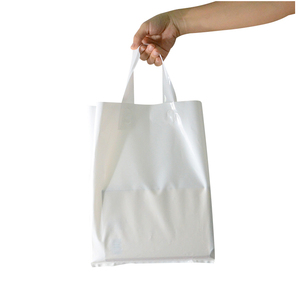 Factory Logo printed plastic carry bag design make in China