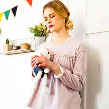 16e3690c962 Fashion cotton sleepwear sexiest clothes long sleeve women polyester China  wholesale nightwear pajamas