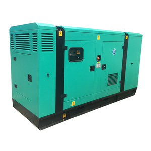 hot sale 56kw small silent diesel genset with Cummins engine factory price