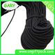 2mm Black Polyester Elastic Rope Braided Elastic cord