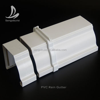 Uv Resistant Plastic Square Gutters And Downspouts For  Greenhouse,Philippines Small Plastic Gutter Prices - Buy Plastic Gutters  Prices,Square Plastic