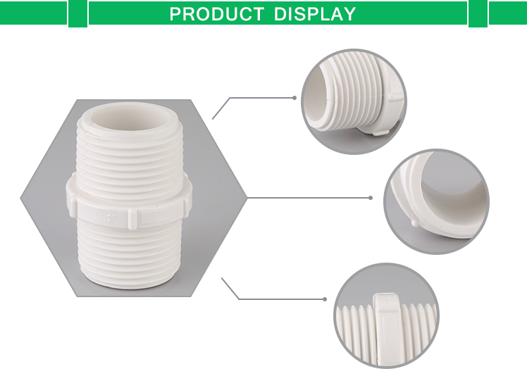 Best PVC Pipe Fittings/Double Thread Nipple