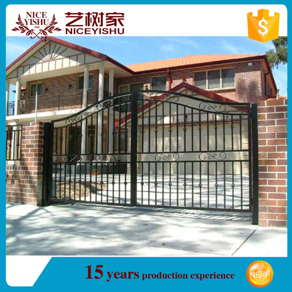 Pictures aluminum gate and main iron gate with iron doors design main gate for villas