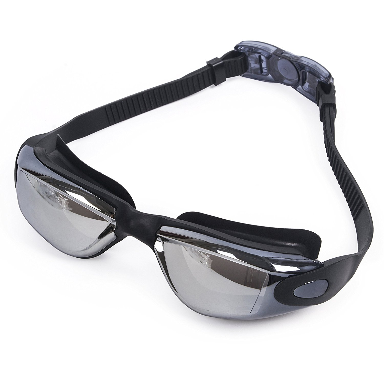 20fa7c9cce Get Quotations · Swimming Goggles Adult - SUNVP Clear Vision UV Protection  Anti Fog Scratch Resistant Lenses - Comfort