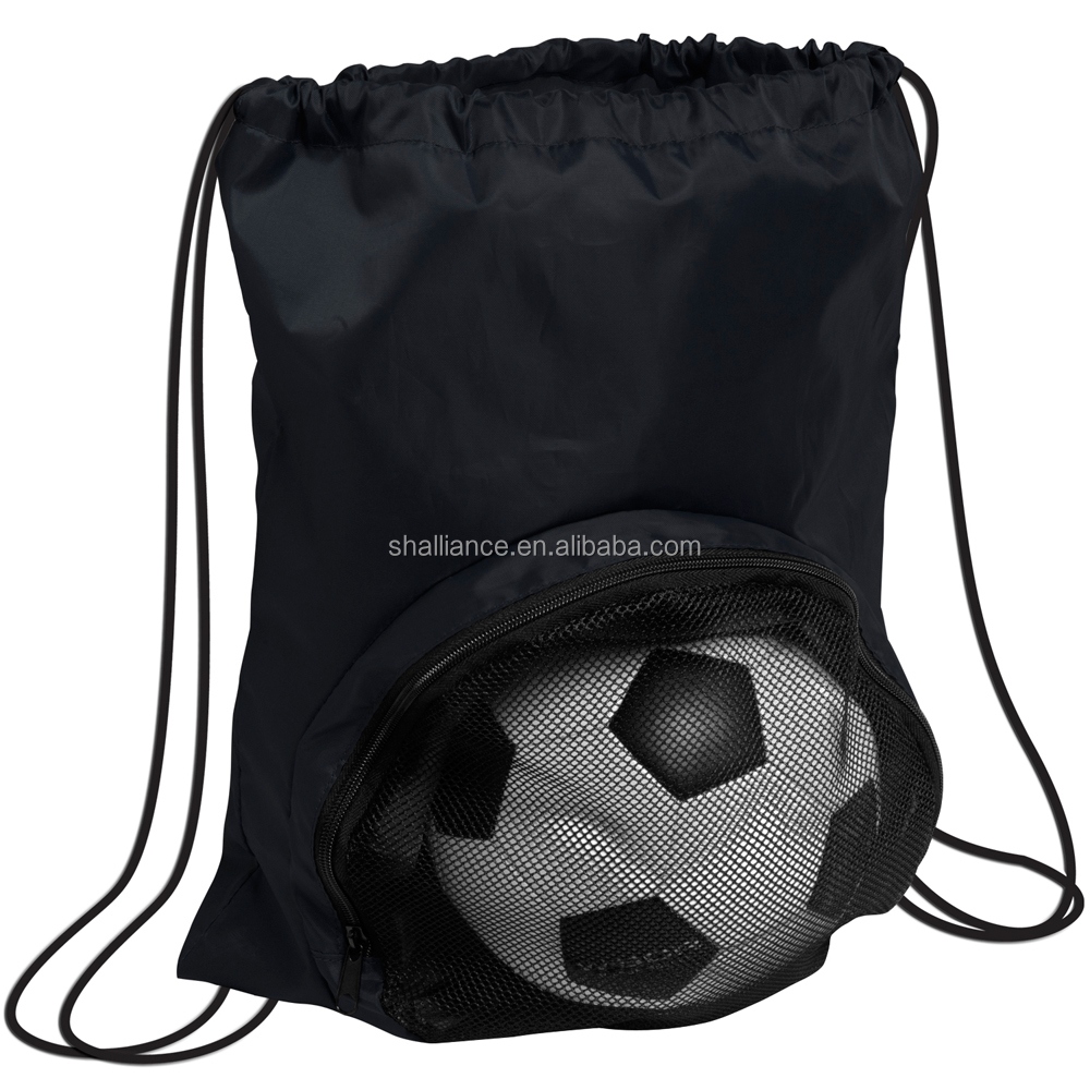 5257d4cad7f4 Sports Drawstring Bag  Basketball Football bag  Drawstring Backpack with  soccer pocket
