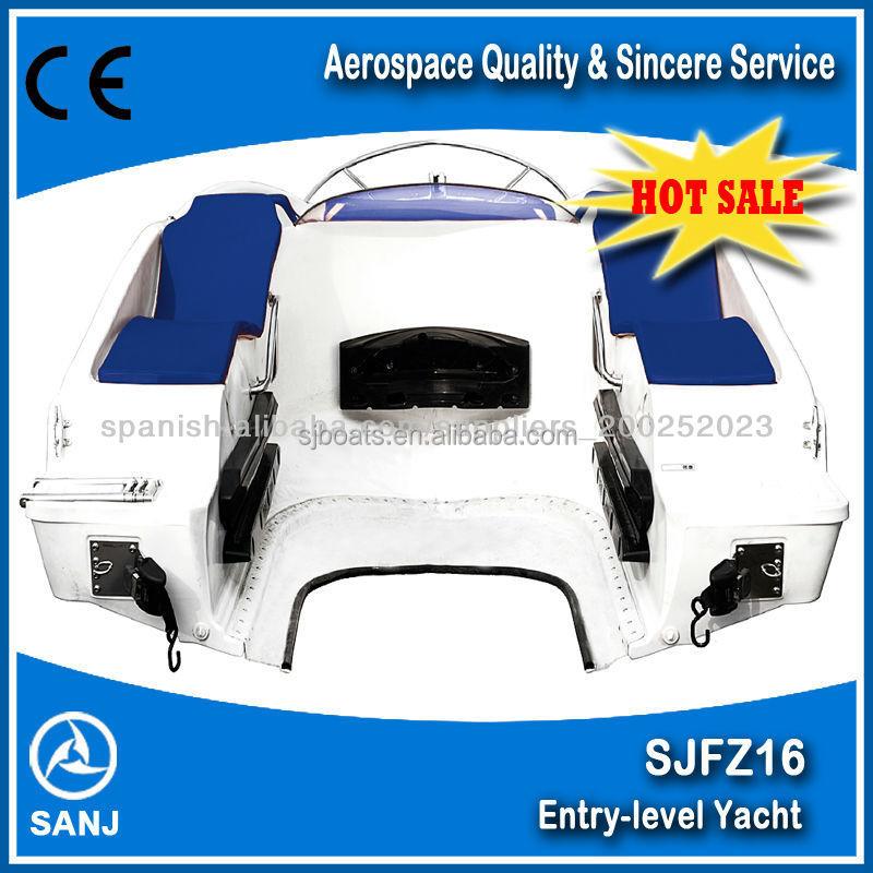 Ce Approved Sjfz16 Fiberglass Tender Boats Match With Jet Ski ...