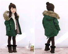Children s Clothing New 2014 Winter Coat Lapel Jacket Plus Thick Velvet