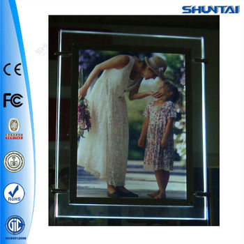 A4 Acrylic Fridge Led Magnet Photo Frame