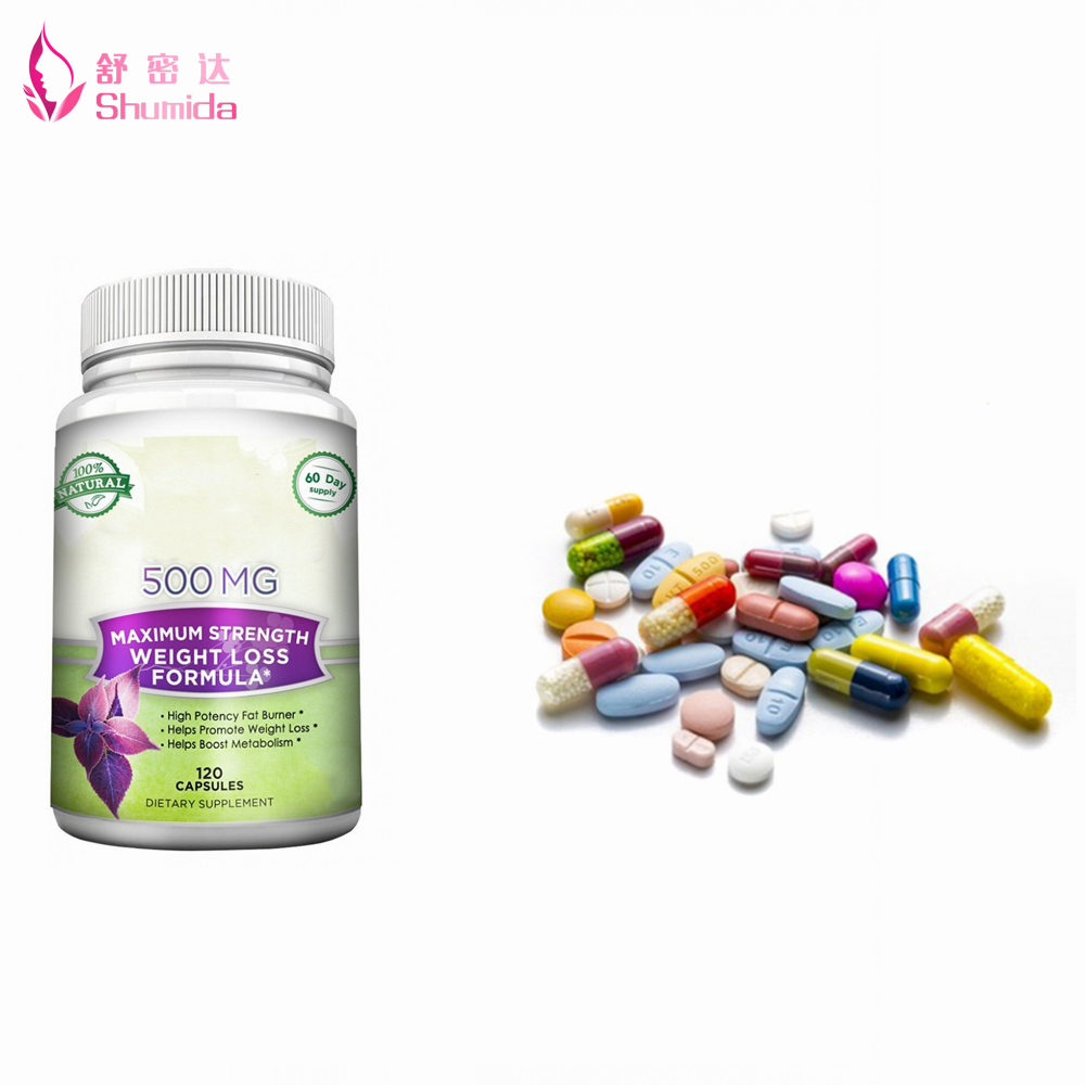 Original Green Coffee Bean Extract Slim Fit Weight Loss Capsules
