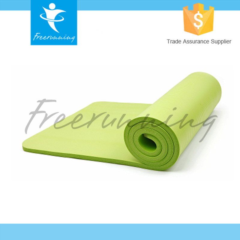 High Density Home Gym Equipment Inflatable Yoga Mat Manufacturer