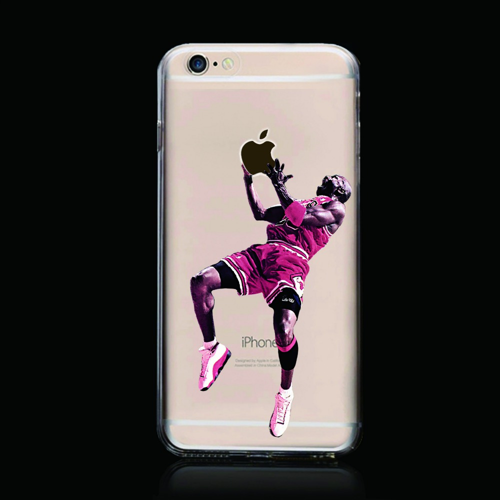 nba iphone cases basketball player with nba patter plastic tpu clear 12677