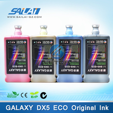 Hot sales!! printer galaxy eco solvent ink for dx5 printhead galaxy large format printing machine