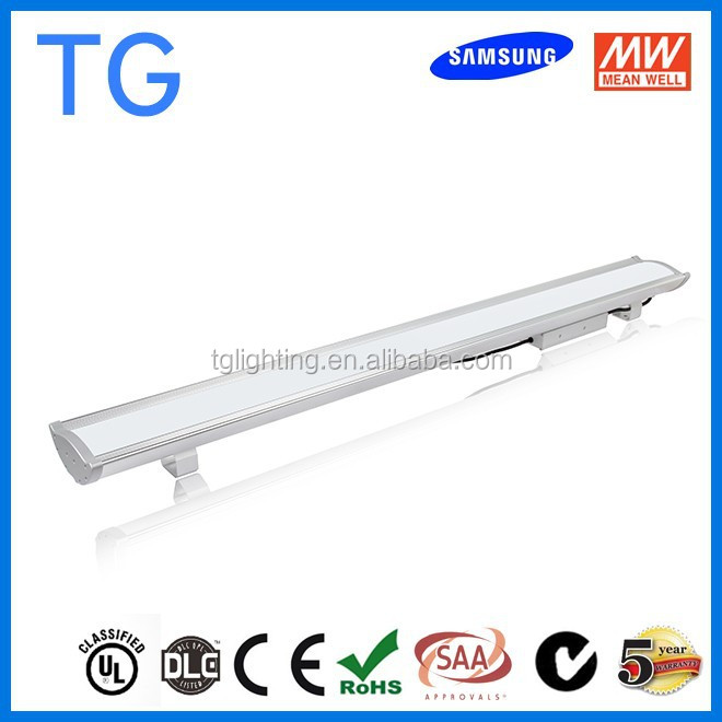 UL DLC listed extruded aluminum enclosure light lighting, 120w 150w 160w 200w led high bay light