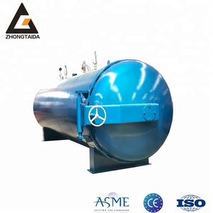 Giant Pipe Rubber Lining Indirect Steam Heating Vulcanization Tank/Curing Autoclave