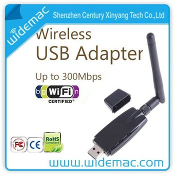 300mbps Realtek Rtl8191su Wireless Usb Adapter/wifi Dongle Supports Hd Lcd  Tv/player/hdtv (sl-1504n) - Buy Realtek Rtl8191su Wifi Usb Adapter,Usb