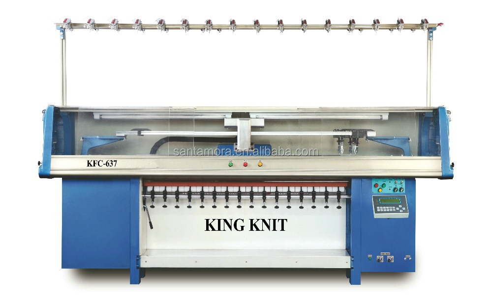 New High Quality Sweater Flat Bed Computerized Knitting Machine