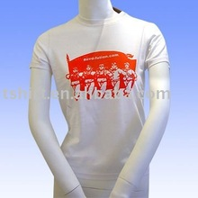 Silk/cotton tshirt