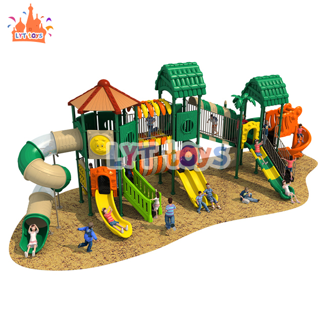 colorful new design kindergarten play equipment children outdoor playground