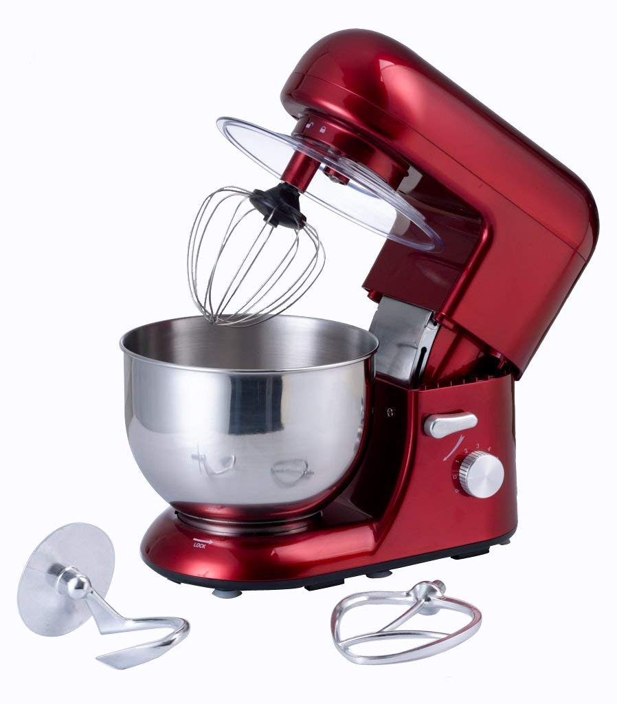 Get Quotations Ejia Multifunctional Red 5 Litre Food Mixer With Meat Grinder And 1 5l Blender Attachments