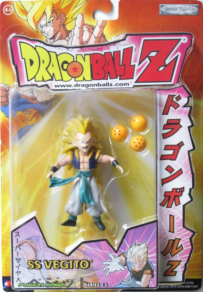Dragonball Z Fighting Forces Action Figure SS3 Gotenks Jakks